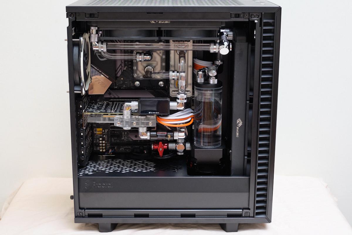 Fractal Design Define 7 Compact 開箱 – 分體水冷安裝體驗